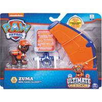 Figura E Mini Veículo - Patrulha Canina - Resgate Extremo - Zuma & Hang Glider - Sunny