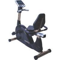 Bicicleta Ergométrica Horizontal 5000H, Painel Multifunções, 16 Níveis De Resistência, Sensor Cardíaco - Mormaii