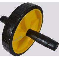Roda De Exercícios Muvin Amarela E Preta