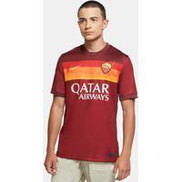 Camiseta Nike Roma I 2020/21 Torcedor Pro Masculina