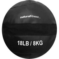 Wall Ball 8 Kg Natural Fitness Treinamento Funcional Crossfit - Unissex