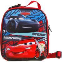 "Lancheira Carros® ""Storm & Lightning""- Vermelha & Azul"