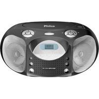 Rádio Com Cd Pb120N Mp3 Fm Usb 4W Rms - Philco