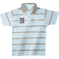 Camisa Polo Infantil Colorittá Masculino - Masculino