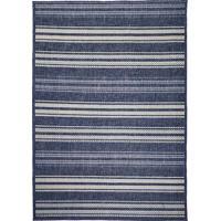 Tapete Sisal Clyde 05 - 0,50X1,00M - Edantex Azul