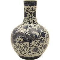 Vaso Decorativo De Porcelana Zunhua Oriental