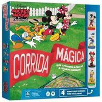 Jogo De Tabuleiro - Disney - Mickey Mouse E Amigos - Corrida Mágica - Copag