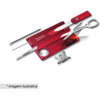 Kit Lite Swisscard- Inox & Vermelho- 7Pã§S- Victovictorinox