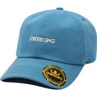 Boné Overking Aba Curva Dad Hat Strapback Classic Azul Bebê