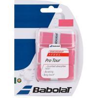 Overgrip Babolat Pro Tour X3 Rosa - Unissex