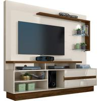 Home Theater Vicente Off White/Savana Madetec