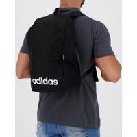 Mochila Adidas Classic Linear Daily Preta