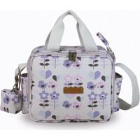 Bolsa Sacola Térmica Organizadora - 28X25X18 Cm - Coleção Birds - Masterbag