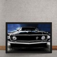 Quadro Decorativo Ford Mustang 1969 25X35