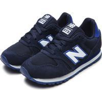 Tênis New Balance Menina K374 Azul-Marinho