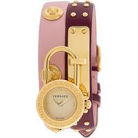 Versace Relógio Medusa Lock Icon - Roxo
