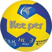 Bola Handebol Keeper H3L Pvc - Unissex-Amarelo