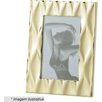 Porta Retrato Diamond- Dourado- 27,1X22,1X2,5Cm-Lyor