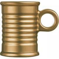 Caneca Espresso Conserve Moi Vidro 90 Ml Dourado Luminarc