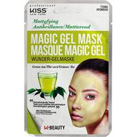 Máscara Facial Kiss New York - Magic Gel Mask Chá Verde - 1 Unid. - Feminino-Amarelo