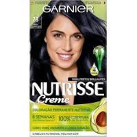 Coloração Garnier Nutrisse Blacks 28 Preto Azulado Açaí - Unissex-Incolor
