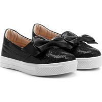 Tênis Infantil Shoestock Glitter Feminina - Feminino