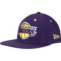 97677d51d ... Boné New Era 950 Of Sn Nba Los Angeles Lakers - Unissex-Roxo+Amarelo