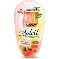 Depilador Descartável Bic Soleil Naturals Premium Com 2 Unidades 2 Unidades
