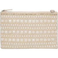 Clutch Bordada Com Pedraria