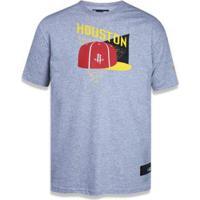 Camiseta Houston Rockets Nba New Era Masculina - Masculino-Mescla Claro