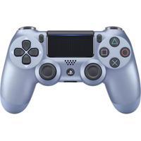 Controle Para Ps4 - Dualshock - Azul Titânio - Sony
