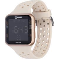 Relógio Digital X Games Xlppd033 - Feminino - Bege