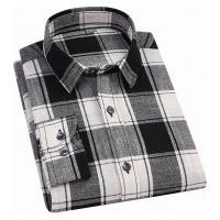 Camisa Xadrez Anthony Masculina - Preta E Branca