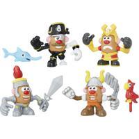 14134f718e ... Figura Mashup Playskool - Mr. Potato Head - Guerreiros - Hasbro -  Unissex-Incolor
