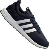 Tênis Adidas Retrô Run Classic - Masculino - Azul Esc/Branco