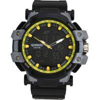 Relógio Speedo 81108G0Evnp2 Preto/Prata