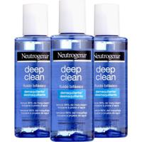 Kit Com 3 Demaquilante Neutrogena Deep Clean 117Ml