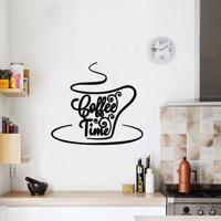 Adesivo De Parede Coffee Time