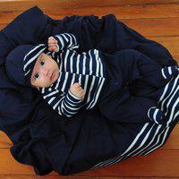 Saída De Maternidade Sônia Enxovais Menino Luxo André Marinho