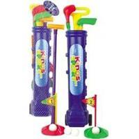 Kit De Golf Infantil Belfix Com Carrinho 3 Tacos 4 Bolas E 2 Buracos - Unissex