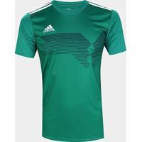 Camisa Adidas Campeon 19 Masculina - Masculino-Verde
