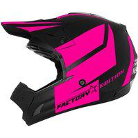 Capacete Cross Th1 Factory Edition Neon Pink Pro Tork