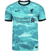 Camisa Liverpool Ii 20/21 Nike - Masculina - Aqua/Preto