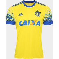 Camisa Flamengo Iii 17/18 S/Nº Torcedor Adidas Masculina - Masculino