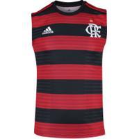 Camiseta Regata Do Flamengo I 2018 Adidas - Masculina - Vermelho Preto 1add31863d1e3