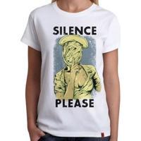 Camiseta Silence