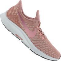 708b749babe Tênis Nike Air Zoom Pegasus 35 - Feminino - Rosa Branco