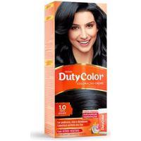 Coloração Creme Dutycolor Para Cabelos Cor 1.0 Preto Azulado 1 Unidade