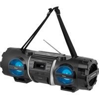 Som Portátil Pb500Bt Bluetooth Usb Auxiliar Rádio Fm Display Digital Philco Bivolt
