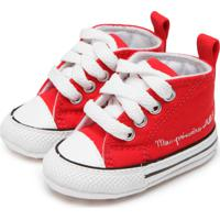 Tênis Converse Chuck Taylor My First All Star Vermelho